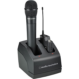 Audio-Technica-ATW-CHG2-dual-bay-recharge-station-for-ATW-2000A-Wireless-Standard