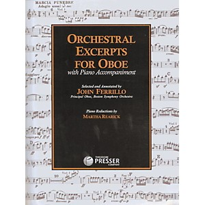 Carl-Fischer-Orchestral-Excerpts-For-Oboe-Book-Standard