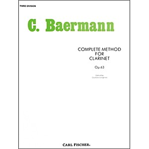 Carl-Fischer-Complete-Method-For-Clarinet---3rd-Division-Standard