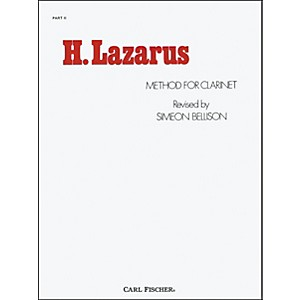 Carl-Fischer-H--Lazarus-Method-for-Clarinet--Part-II-Standard