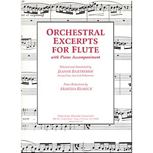 Carl-Fischer-Orchestral-Excerpts-For-Flute-Standard