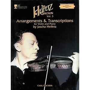 Carl-Fischer-The-Heifetz-Collection-Vol--3--Arrangements---Transcriptions-Standard