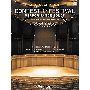 Carl-Fischer-Contest-And-Festival-Performance-Solos-Book-CD-Standard