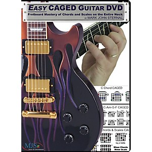 MJS-Music-Publications-Easy-CAGED-Guitar-DVD--Fretboard-Mastery-of-Chords-and-Scales-on-the-Entire-Neck-Standard