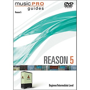Hal-Leonard-Music-Pro-Guide-DVD-Reason-5-Beginner-Intermediate-Level-Standard