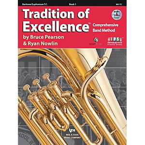 KJOS-Tradition-Of-Excellence-Book-1-for-Baritone-Tc-Standard
