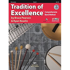 KJOS-Tradition-Of-Excellence-Book-1-for-Percussion-Standard