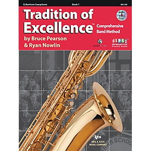 KJOS-Tradition-Of-Excellence-Book-1-for-Bari-Sax-Standard