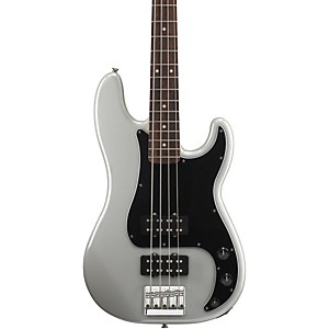 Fender-Blacktop-Precision-Bass-White-Chrome-Pearl