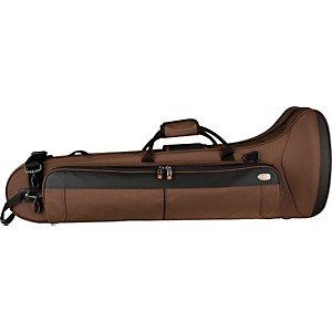 Protec-PB306CTCH-Contoured-Straight-F-Attachment-Tenor-Trombone-PRO-PAC-Case-PB306CTCH-Chocolate