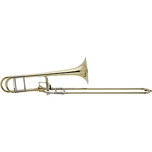 Bach-42AF-Stradivarius-Series-Axial-Flow-F-Attachment-Trombone-42AF-Lacquer-Yellow-Brass-Bell