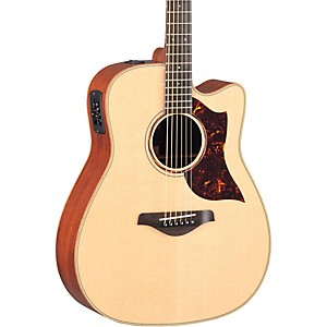 Yamaha-A-Series-All-Solid-Wood-Dreadnought-Acoustic-Electric-Guitar-with-SRT-Preamp-Pickup-Mahogany-Back---Sides