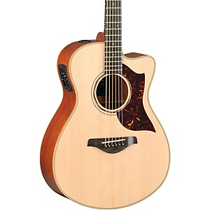 Yamaha-A-Series-All-Solid-Wood-Concert-Acoustic-Electric-Guitar-with-SRT-Preamp-Pickup-Mahogany-Back---Sides