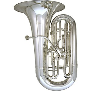 Kanstul-Model-66-S-4-4-EEb-Side-Action-Concert-Tuba-66-S-Silver