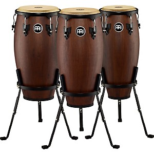 Meinl-Headliner-Designer-3-Piece-Conga-Set-with-Basket-Stands-Standard