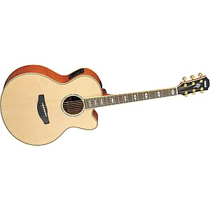 Yamaha-CPX1000-Medium-Jumbo-Cutaway-Acoustic-Electric-Guitar-Natural