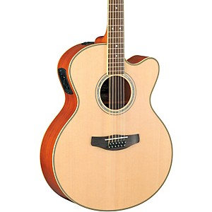 Yamaha-CPX700II-12-Medium-Jumbo-12-String-Cutaway-Acoustic-Electric-Guitar-Natural