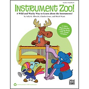 Alfred-Instrument-Zoo--Book---CD-Standard