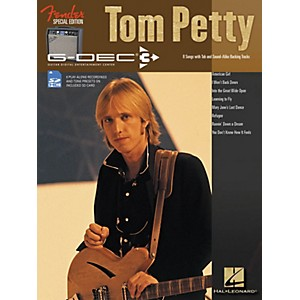 Hal-Leonard-Fender-G-Dec-Tom-Petty-Play-Along-Guitar-Songbook-SD-Card-Standard