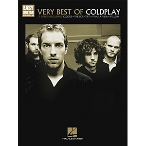 Hal-Leonard-Very-Best-Of-Coldplay---Easy-Guitar-With-Tab-Standard