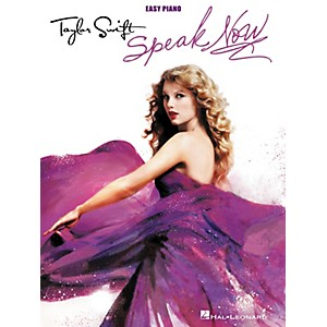 Hal-Leonard-Taylor-Swift---Speak-Now-For-Easy-Piano-Standard