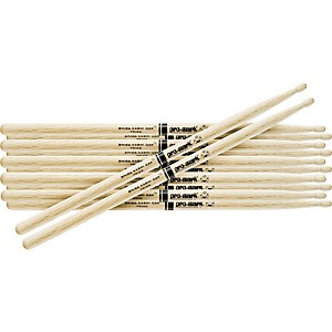 Pro-Mark-6-Pair-Japanese-White-Oak-Drumsticks-Wood-Jazz