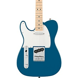 Fender-Standard-Telecaster-Left-Handed--Electric-Guitar-Lake-Placid-Blue-Gloss-Maple-Fretboard