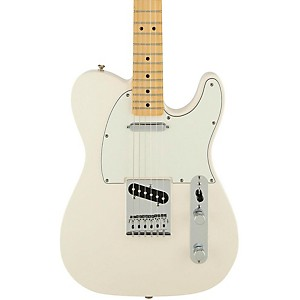 Fender-Standard-Telecaster-Electric-Guitar-Arctic-White-Gloss-Maple-Fretboard