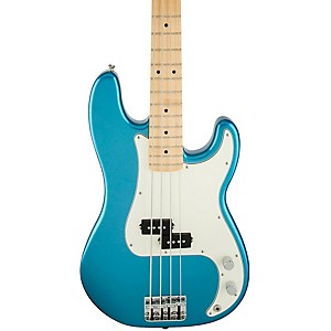 Fender-Standard-Precision-Bass-Guitar-Lake-Placid-Blue-Gloss-Maple-Fretboard
