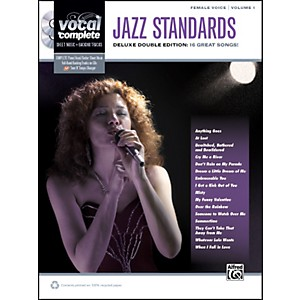 Alfred-Jazz-Standards-Female-Voice----Book---2-CDs-Standard