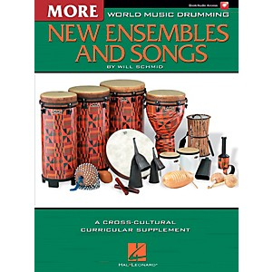 Hal-Leonard-More-World-Music-Drumming--More-New-Ensembles-and-Songs-Standard