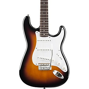Squier-Affinity-Stratocaster-Electric-Guitar-Brown-Sunburst-Rosewood-Fretboard