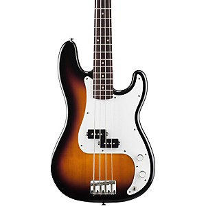 Squier-P-Bass-Electric-Guitar-Brown-Sunburst-Rosewood-Fretboard