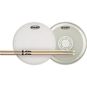 Evans-HD-Dry-Snare-Batter-and-Snare-Side-Head-Pack-with-Free-Pair-of-Pro-Mark-Sticks-Nylon-5B