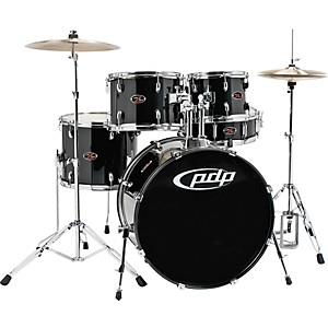 PDP-Z5-Complete-Drum-Set-with-Hardware---Cymbals-Carbon-Black