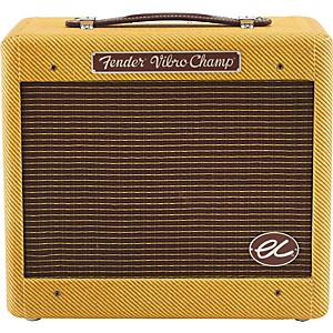 Fender-Eric-Clapton-EC-Signature-Vibro-Champ--5W-1x8-Hand-Wired-Tube-Guitar-Combo-Amp-Tweed