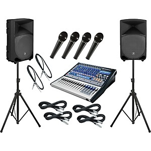 Presonus-Studiolive-16-0-2---Mackie-Thump-TH-12A-PA-Package-Standard