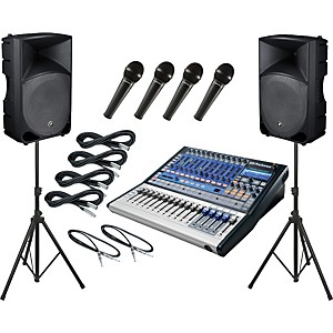 Presonus-Studiolive-16-0-2---Mackie-Thump-TH-15A-PA-Package-Standard