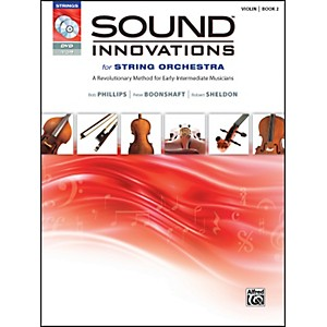 Alfred-Sound-Innovations-for-String-Orchestra-Book-2-Violin-Book-CD-DVD-Standard