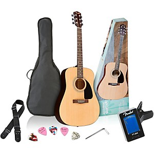Fender-FA-100-Acoustic-Guitar-Pack-Natural