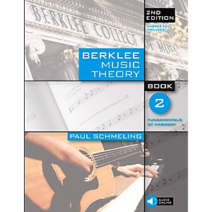 Berklee-Press-Berklee-Music-Theory-Book-2--Book-CD--2nd-Edition-Standard