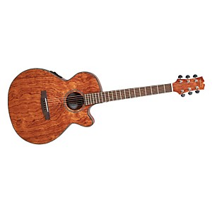 Mitchell-MX400-Exotic-Wood-Acoustic-Electric-guitar-Bubinga
