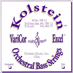 Kolstein-VariCor-Excel-Orchestral-Bass-Strings-VC-1-Set