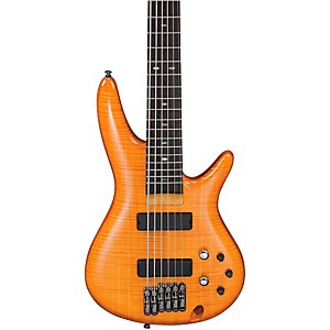 Ibanez-GVB36-6-String-Electric-Bass-Amber