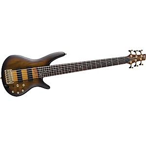 Ibanez-SR756-6-String-Electric-Bass-Brown-Sunburst-Flat