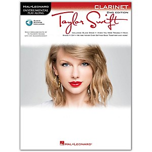 Hal-Leonard-Taylor-Swift-For-Clarinet---Instrumental-Play-Along-Book-CD-Standard