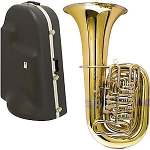 Miraphone-188-5U-Series-5-Valve-CC-Tuba-with-Hard-Case-Standard