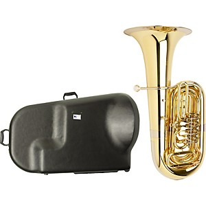 Miraphone-S186-Standard-Series-4-Valve-BBb-Tuba-with-Hard-Case-Standard