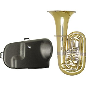 Miraphone-187-Series-4-Valve-BBb-Tuba-with-Hard-Case-Standard