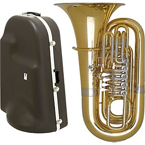 Miraphone-191-Series-5-Valve-BBb-Tuba-with-Hard-Case-Standard